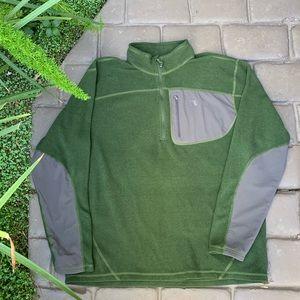 THE NORTH FACE Men's 1/4 Zip Fleece EUC Size XL
